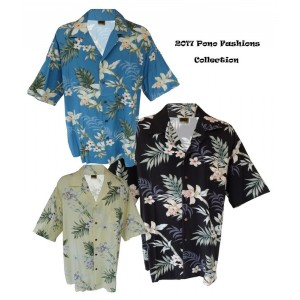 Bamboo Orchid (Rayon) Aloha Shirt