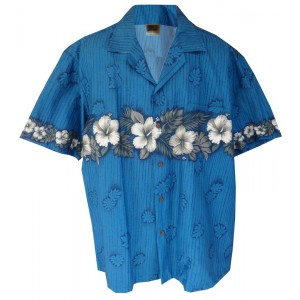New Hibiscus Aloha Shirt