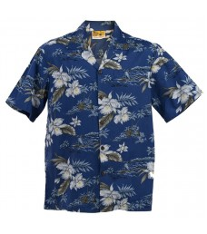 Orchid 100% Cotton Aloha Shirt