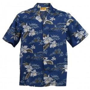 Orchid 100% Cotton Aloha Shirt