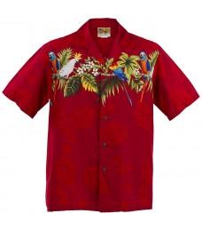 Parrot Aloha Shirt
