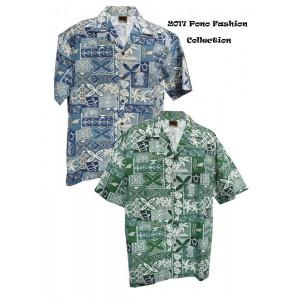 Tapa Pineapple Aloha Shirt