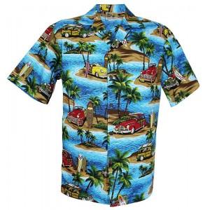 Woody Island Aloha Shirt